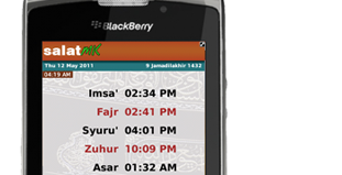 Azan times for worldwide prayers for blackberry download.